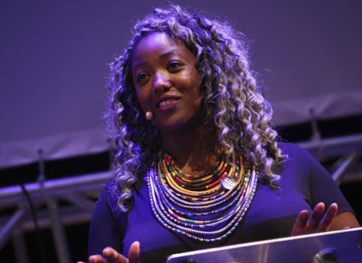 Anne-Marie Imafidon, CEO of Stemettes. Image: Conor McCabe Photography