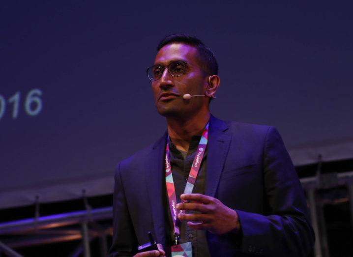 Bharat Krish, CEO of Refine AI. Image: Conor McCabe photography