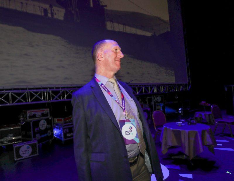 Gerry Ellis at Inspirefest 2018
