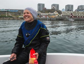 'As a subtidal scientist in Ireland, the biggest challenge is the weather!'