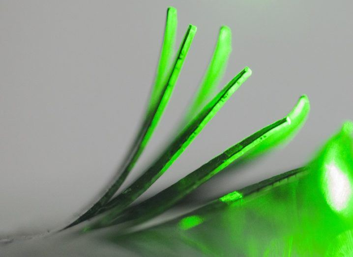New material bending towards light