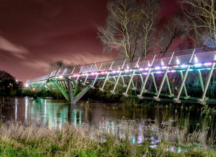 The Living Bridge at the University of Limerick