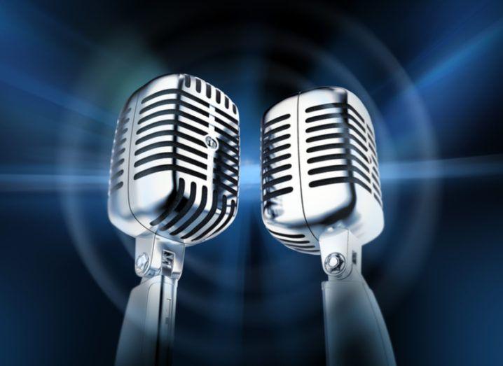 pair of microphones