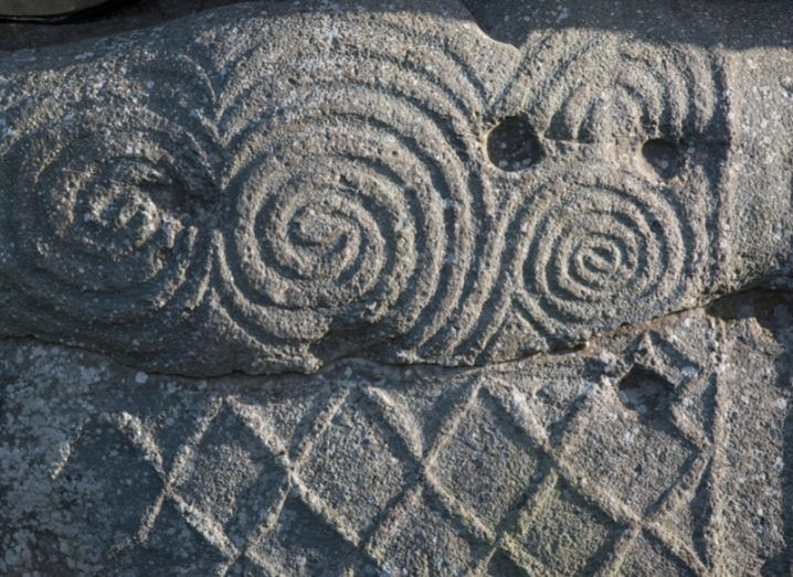 Megalithic tomb carvings