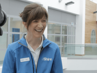 Want to work at Shire's new manufacturing facility?