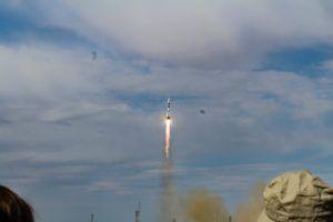 Soyuz rocket taking off