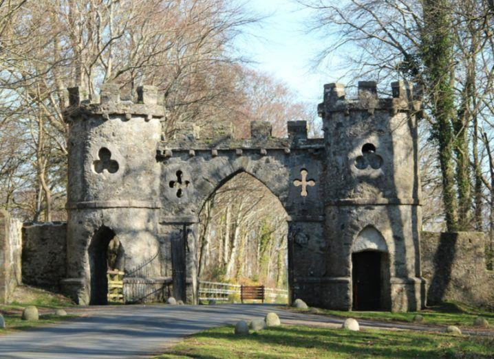 Entrance gate to Tollymore Forest Park