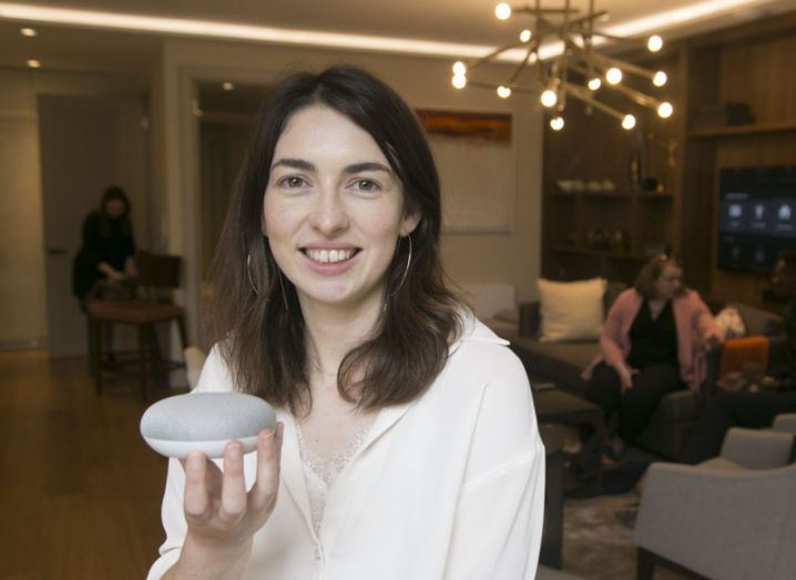 Tríona Butler is the Tipperary-born and Silicon Valley-based Google Home user experience (UX) lead who spearheaded the UX design of the devices. Image: Colm Mahady