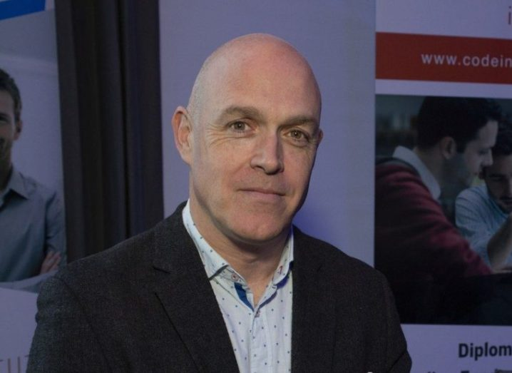Jim Cassidy, CEO of Code Institute