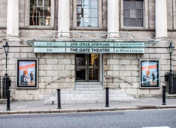 Exterior of the Gate Theatre, Dublin