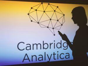 Cambridge Analytica logo. Image: Alexandra Popova/Shutterstock