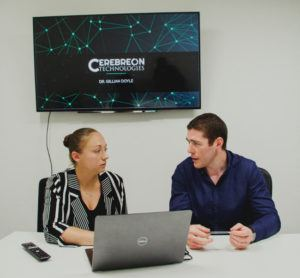 Cerebreon co-founders Gillian Doyle and Kenneth Doherty. Image: Cerebreon
