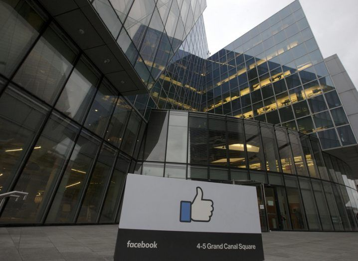 Facebook international headquarters in Dublin. Image: Laura Hutton/Shutterstock