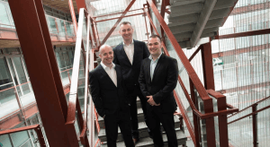 Pictured from left: COO Paul Casey, CEO Cillian McCarthy and CTO Rob Norton, Paradyn. Image: Steve Langan