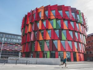 The Chalmers University building at Lindholmen Science Park in Gothenburg, Sweden. Image: Albin Bolt-Hansen/Shutterstock