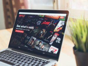 Netflix on a laptop. Image: sitthiphong/Shutterstock