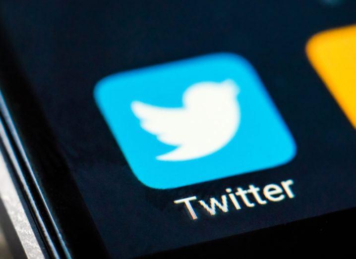 Twitter app open on mobile. Image: In Green/Shutterstock