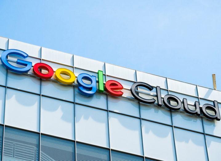Google Cloud office in California. Google Cloud Next is underway in California