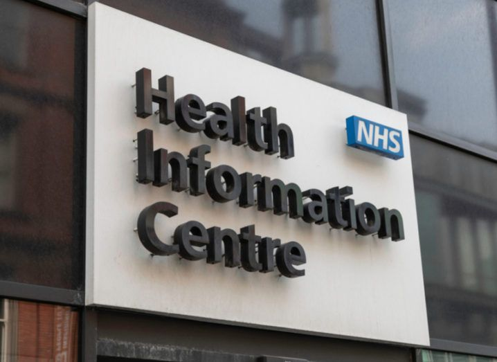 An NHS centre in Liverpool, UK