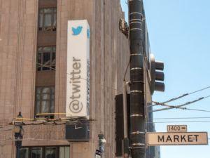 Twitter HQ on Market Street, San Francisco
