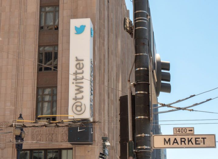 Twitter HQ on Market Street, San Francisco