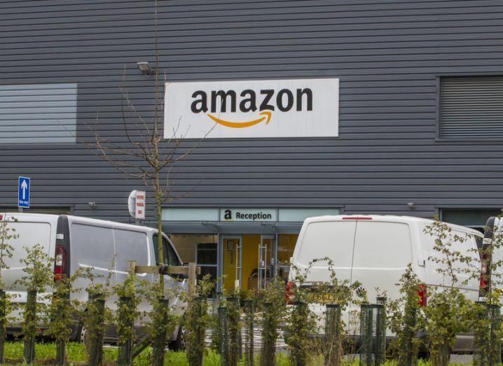 Amazon fulfilment centre in Leeds, UK.