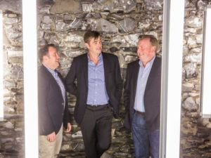 Pictured: Urbanvolt founders Declan Barrett, Kevin Maughan and Graham Deane. Image: Urbanvolt