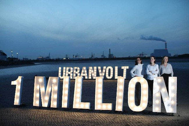 Urbanvolt was one of the first company's globally to sign up for the UN's Global Lighting Challenge and has delivered energy savings to permanently turning off 1 million lightbulbs. Pictured: Fiona Cairns, Edel Kennedy and Maura Ryan. Image: Urbanvolt