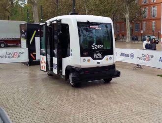 Free trips announced for Dublin's first autonomous bus