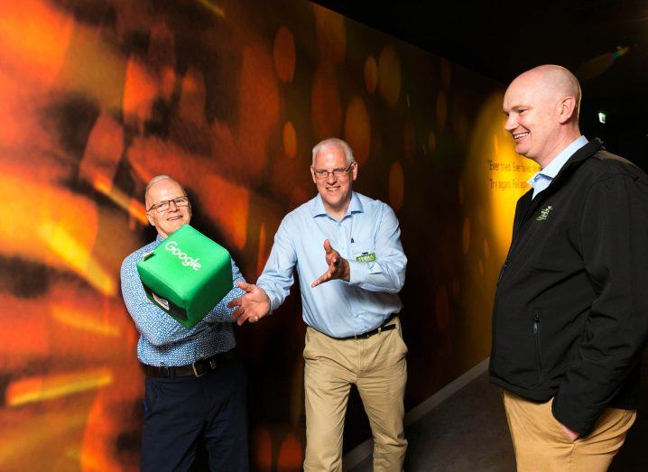 Winners of Google Spring Adopt A Startup programme Terra Minerals.