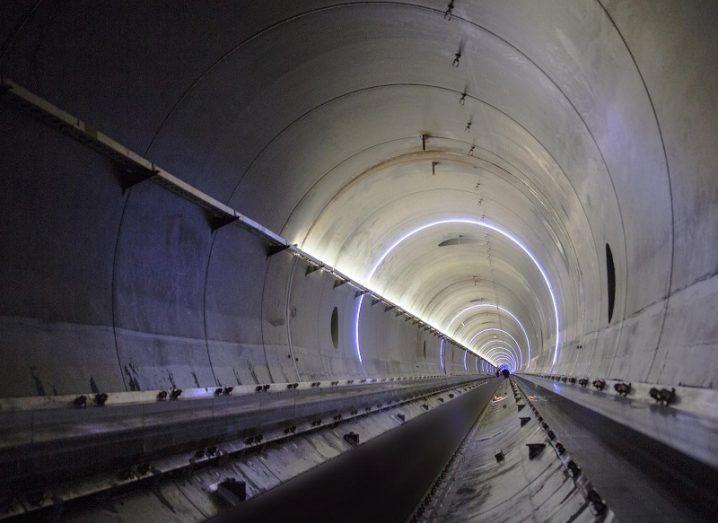 Virgin Hyperloop One test track