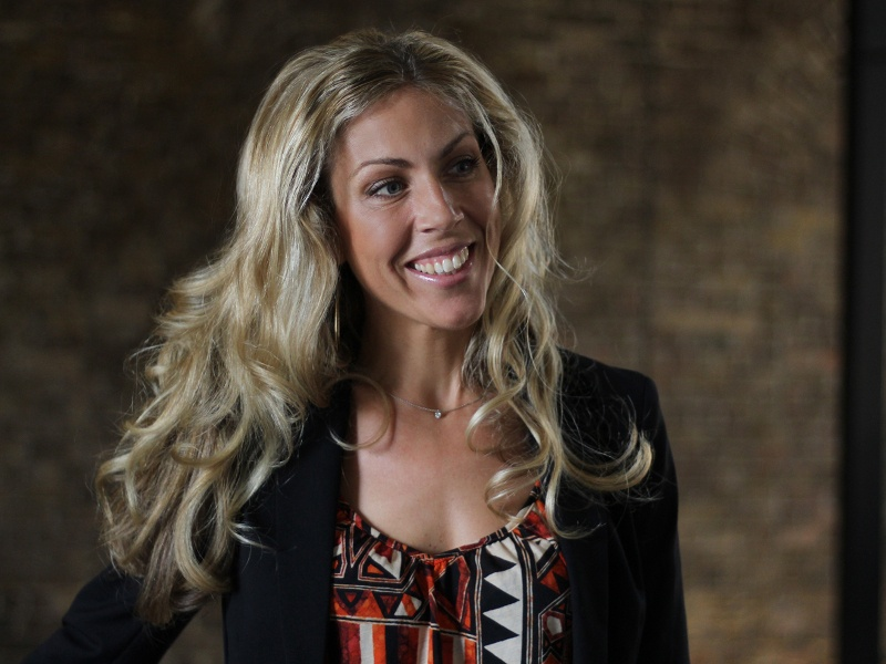 Photo of Joanna Mulkeen, founder of One Step Closer.