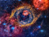 Discovery of a weird 'inside-out' nebula could show us our sun's future