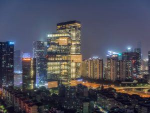 Tencent's headquarters in Shenzen, China