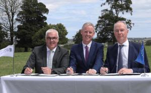 Devenish EIB investment being signed