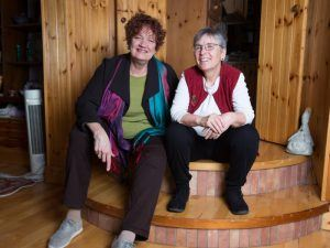 DoctoralNet co-founders Alana James and Margie Milenkiewicz. Image: Darragh Kane