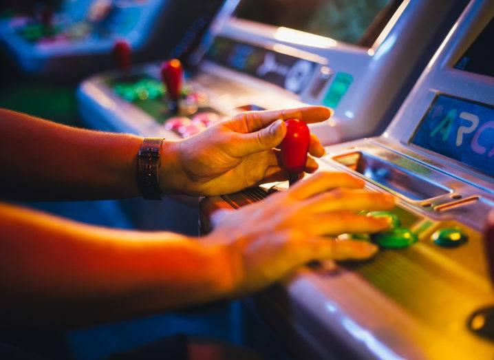 retro games arcade
