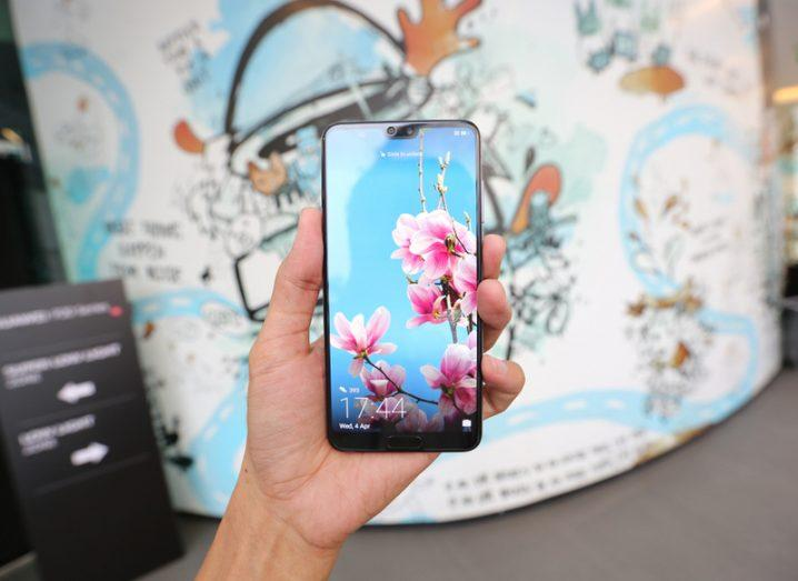 Huawei P20 smartphone. Image: Junior_Cinematic/Shutterstock