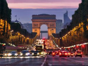 Paris at Night. Mention is headquartered here