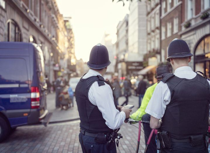London police officers. The use of IMSI catchers by UK police is being scrutinised.
