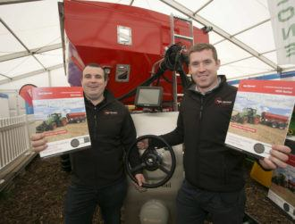 Precision fertiliser innovators win top prize at National Ploughing Championships