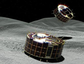 Photos reveal stunning moment Japan lands rovers on asteroid