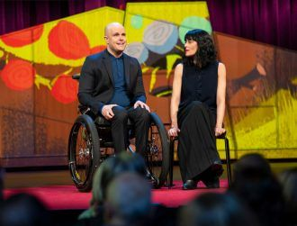 Mark Pollock and Simone George wow TED audience with 'love letter to science'
