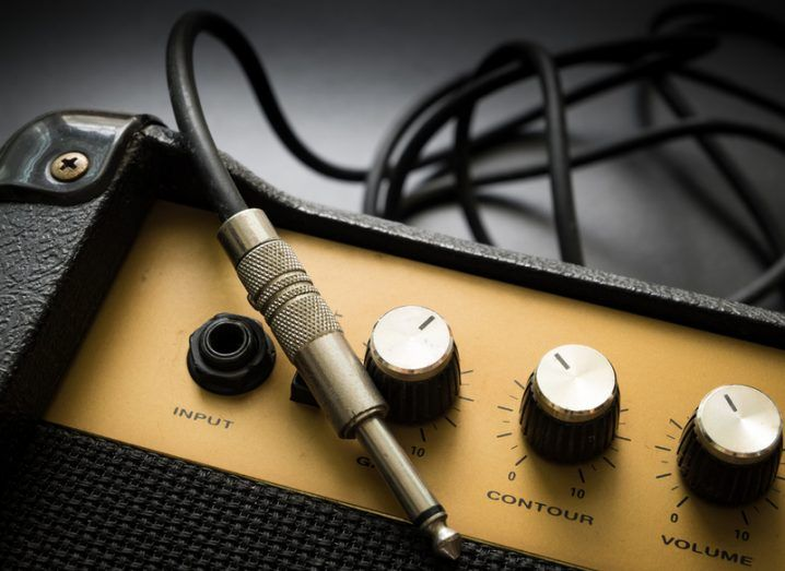 A guitar amp.
