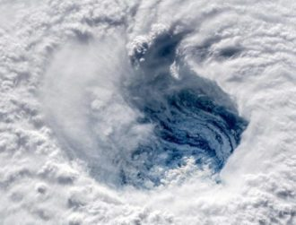 Astonishing new photos show Hurricane Florence from space