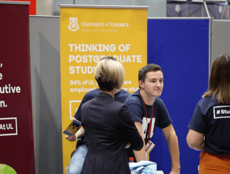 There were 7,000 jobs up for grabs at the UL Careers Fair