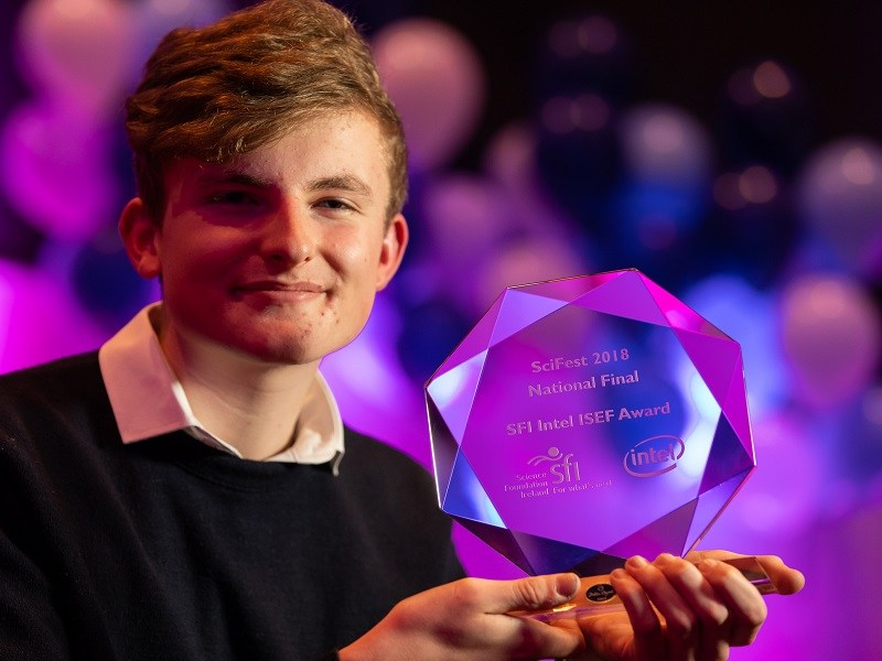 Could this student's award-winning project help launch a quantum