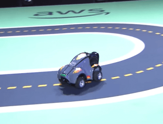Amazon unveils tiny autonomous racing car for new global tournament