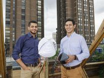 'Ingenious' city wind turbine scoops global James Dyson award