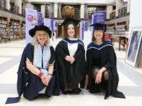 Sinéad Burke and Ann O' Dea receive Honorary Fellow awards from IADT